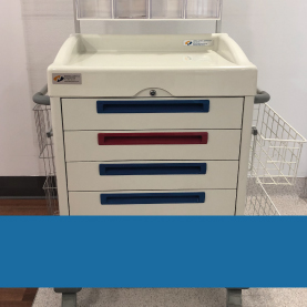 Hospital carts, procedure carts, storage carts