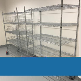 Trolley and mobile shelving kits