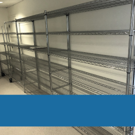 BUY ONLINE - Shelving & Trolley Kits