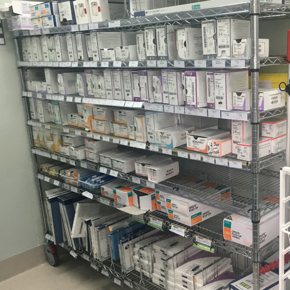 static-chrome-wire-shelving-hospital-dept